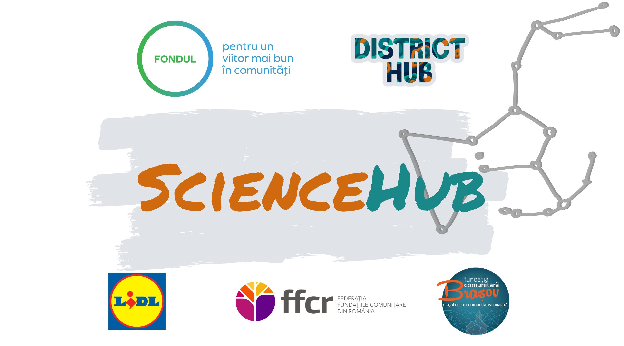 Lansăm Science Hub, un proiect pilot al Asociației District Hub, pentru realizarea de resurse educaționale digitale