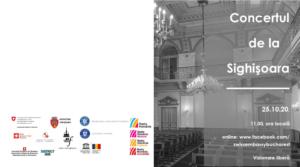 Asociația District Hub susține Ambasada Elveției la București în organizarea Concertului de la Sighișoara