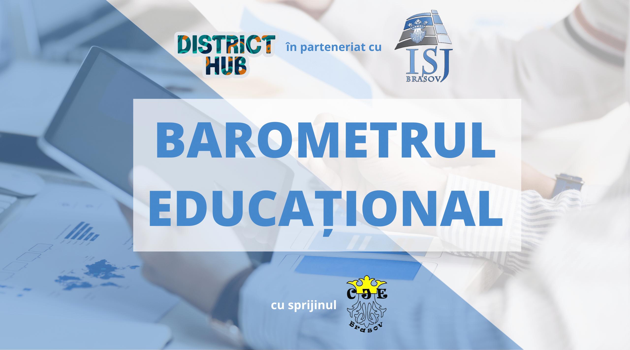 Asociația District Hub prezintă rezultatele Barometrului educațional pentru județul Brașov