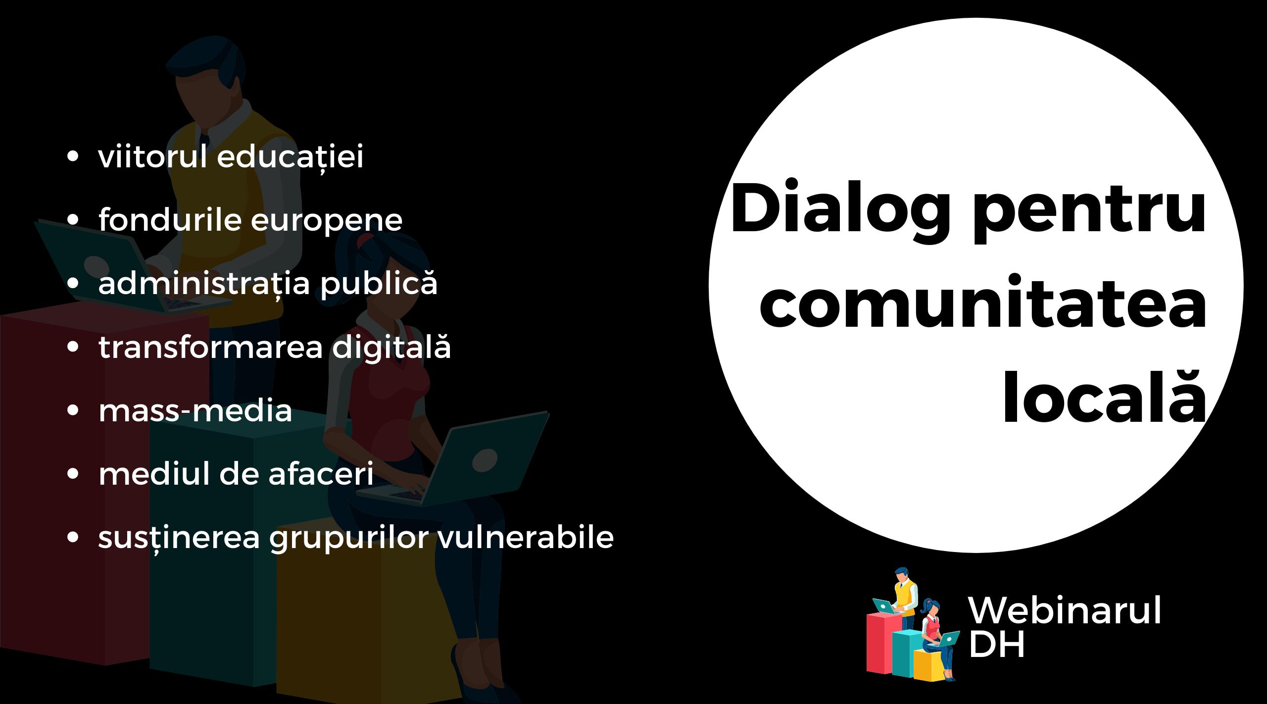 Lansăm WebinarulDH, un nou program al Asociației District Hub, pentru transferul de expertiză către comunitatea locală