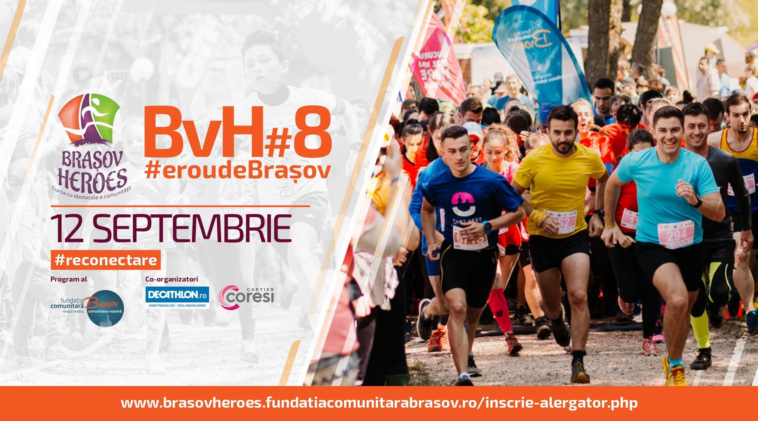 Asociația District Hub recomandă: Brașov Heroes, ediția a opta (12 septembrie 2021)